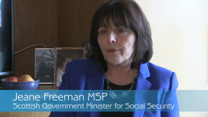 Jeane Freeman SNP Minister for Social Security