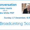 In Convrsation with Sandra White MSP
