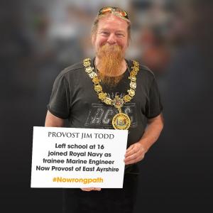 Provost Jim Todd - Full Scottish