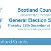 Scotland Counts #GE2019